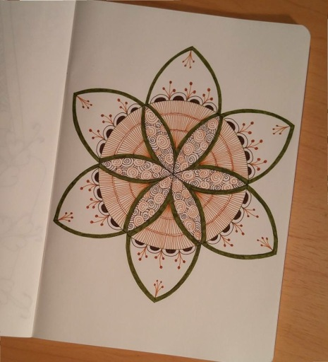 Earth-tone Mandala